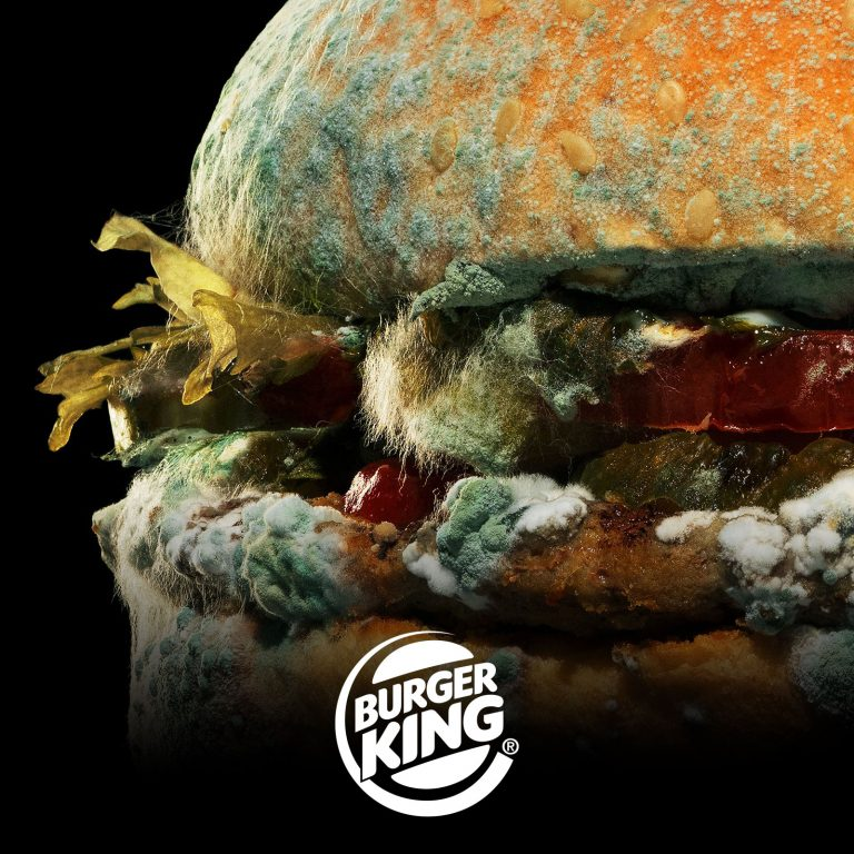 Burger King Unveils New Ad Featuring Moldy Whopper